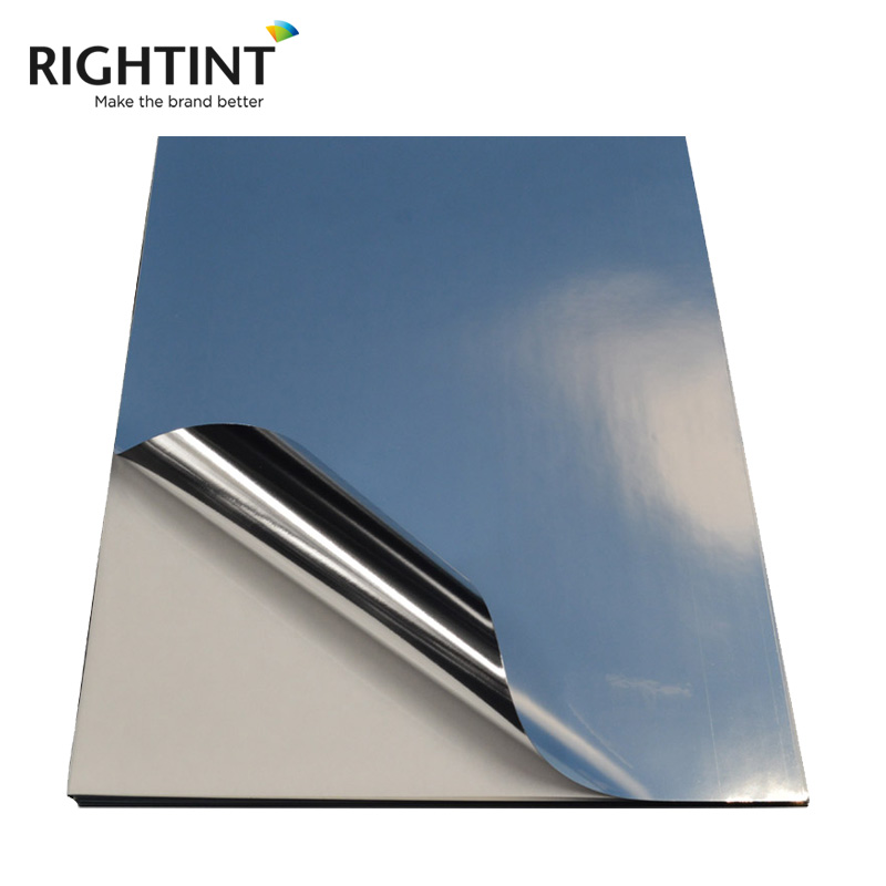 Self Adhesive Inkjet Glossy Silver PET Film