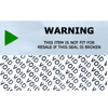 Adhesive Custom Printing Warranty Paper Open Void Security Label Sticker