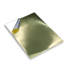 Self Adhesive Glossy Golden PET